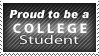 Proud to be a College Student by blueslaad