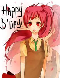 happy birthday pengawas :') by Anakoneko