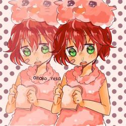 my oc's genderbend by Anakoneko