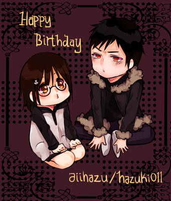 happy birthday to my beloved imouto by Anakoneko