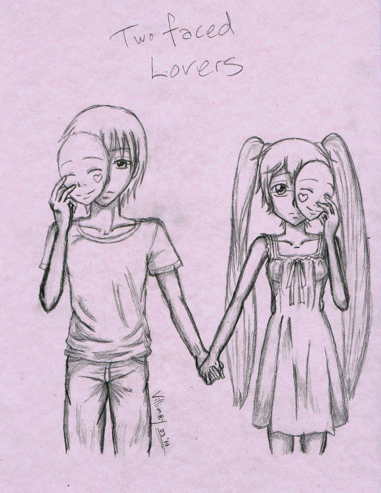 Two faced people vocaloid two faced lovers by