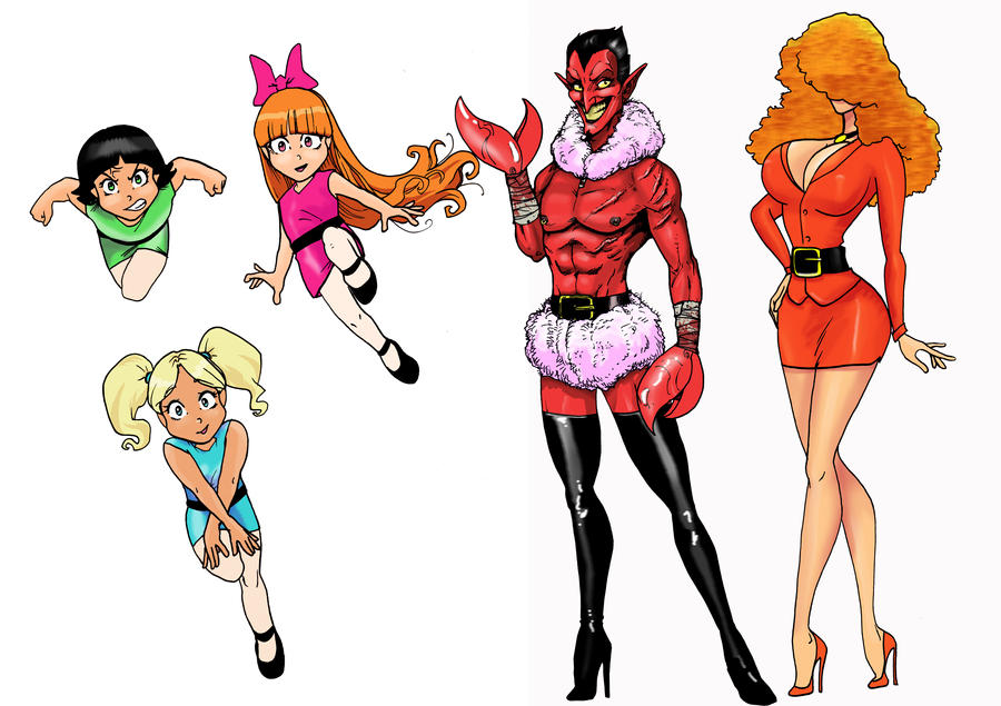 Powerpuff Girls Him