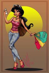 Jasmine by scottssketches