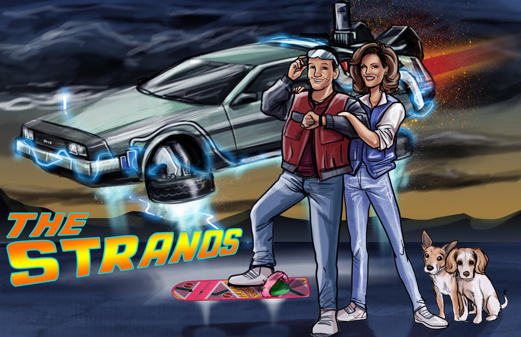 Back To The Future Commission By Scottssketches On DeviantArt