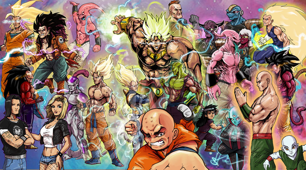 Favori Dragonball Z American Style Re-imagined by scottssketches on  II42