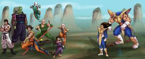 Re-Imagination of DragonBall Z Saiyan Saga