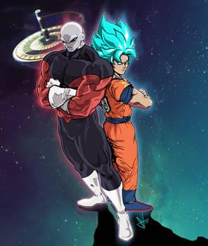 Jiren vs Goku