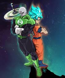 Jiren Green Lantern by scottssketches