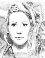 Ellie Goulding by bobbleheadgirl
