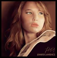 Jennifer Lawrence by bobbleheadgirl