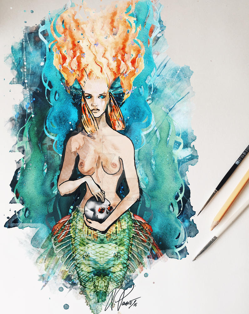 Mermaid by nikolapanic