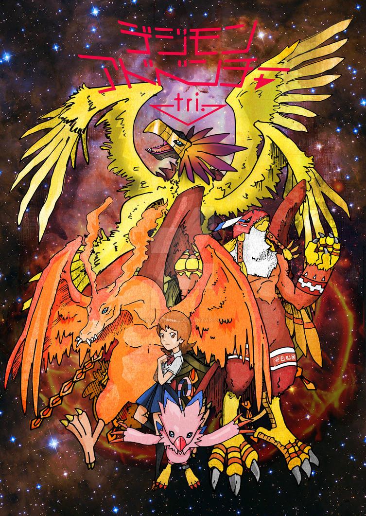 Digimon Adventure Tri 02 by nikolapanic
