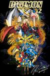 Digimon Adventure 02 - Poster design 01 by nikolapanic