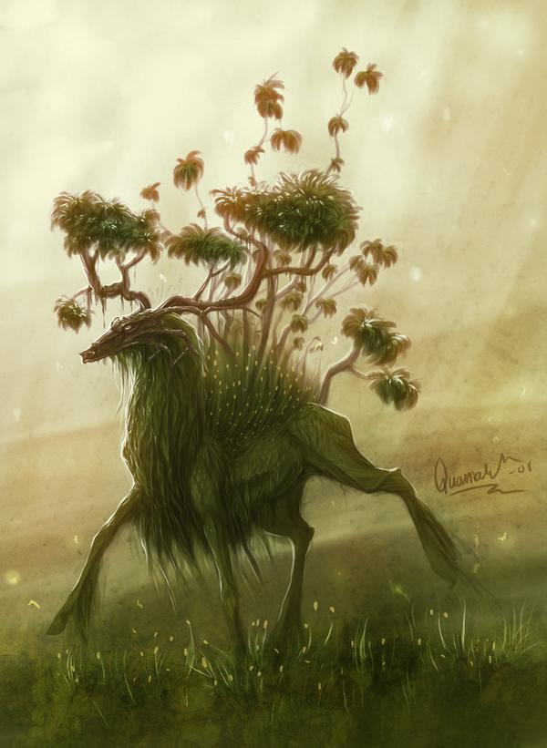 Duch lesa