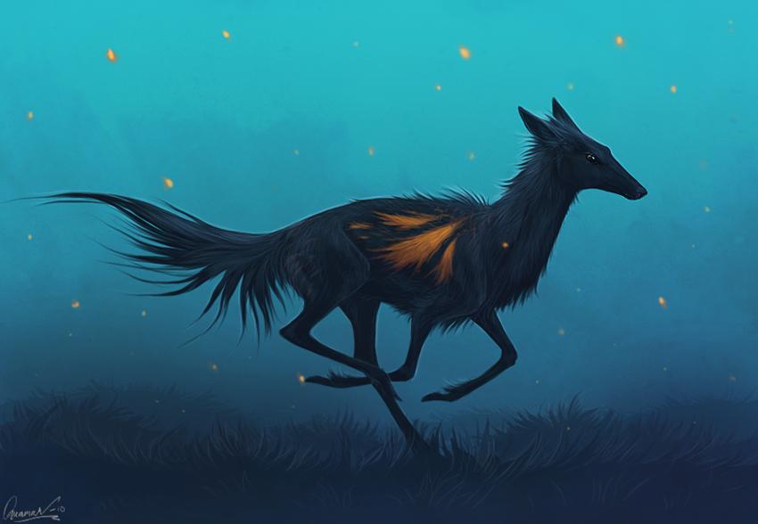 Fireflies by SmolderBone