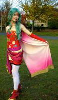 Terra Cosplay (Final Fantasy VI) - Half-Esper Girl