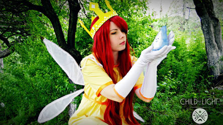 Child Of Light - Aurora and Igniculus cosplay by CristinaChii