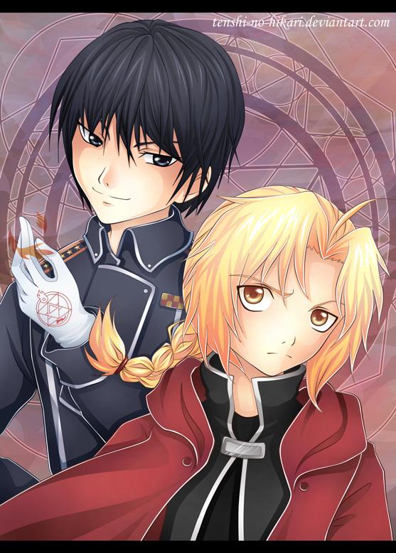 FMA - Ed and Roy by Tenshi-no-Hikari