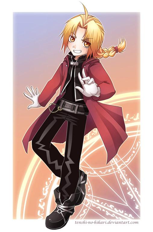 FMA - Edward Elric by Tenshi-no-Hikari