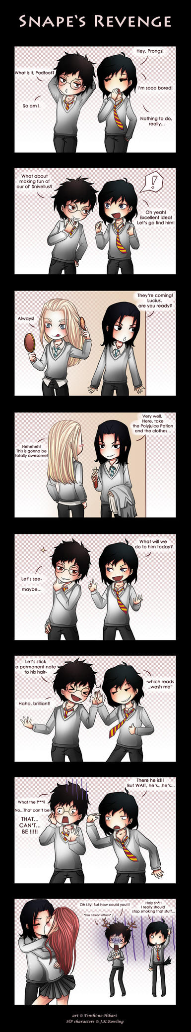 HP - Snape's Revenge by Tenshi-no-Hikari
