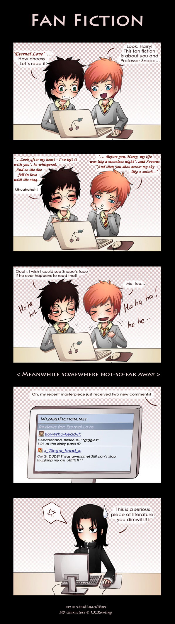 HP - Fan Fiction by Tenshi-no-Hikari