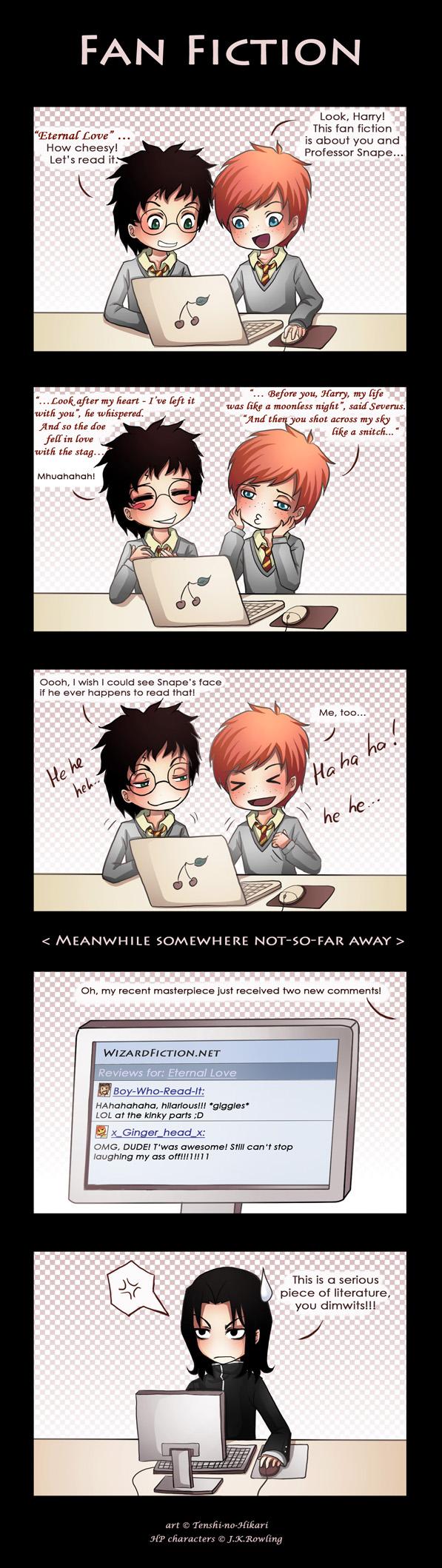 HP - Fan Fiction by Tenshi-no-Hikari