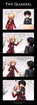 FMA - The quarrel by Tenshi-no-Hikari