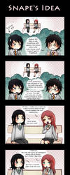 HP - Snape's idea by Tenshi-no-Hikari