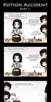 HP - Potion accident -part 1-