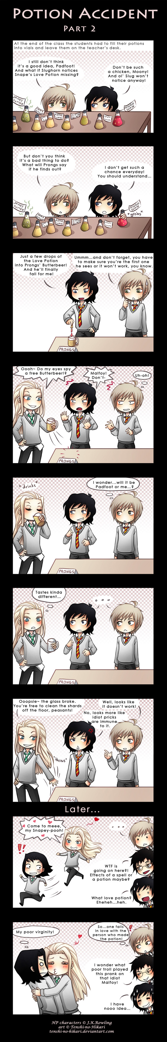 HP - Potion accident -part 2- by Tenshi-no-Hikari