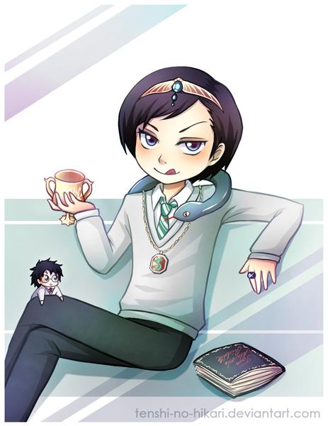 TR loves his Horcruxes by Tenshi-no-Hikari