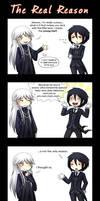Kuro - The real reason by Tenshi-no-Hikari