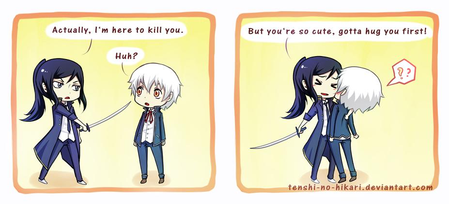 K Project - Too cute to kill by Tenshi-no-Hikari