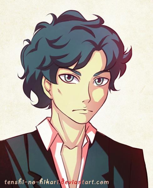Sherlock portrait by Tenshi-no-Hikari