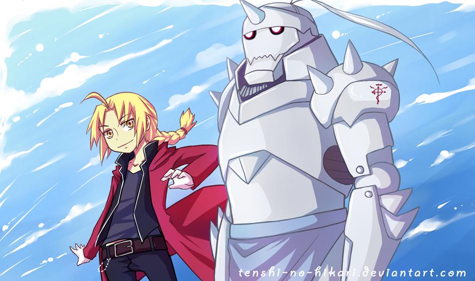 FMA - Brothers by Tenshi-no-Hikari