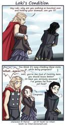 Thor 2 - Loki's condition by Tenshi-no-Hikari