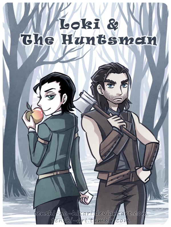 Loki and The Huntsman -cover- by Tenshi-no-Hikari