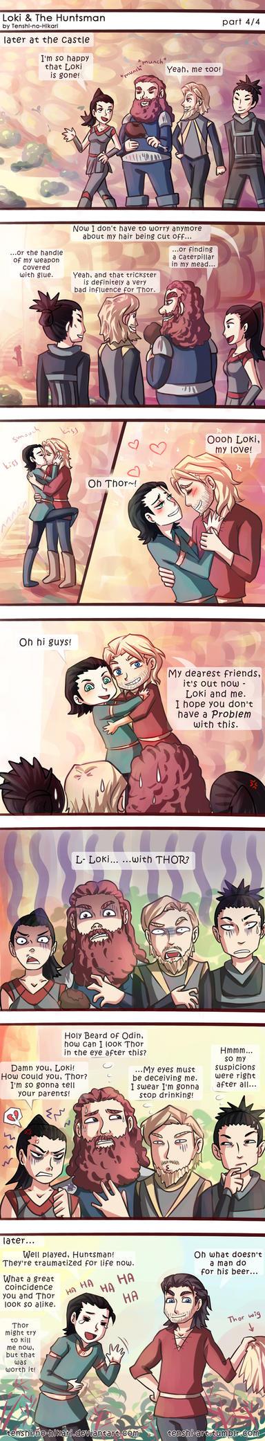 Loki and The Huntsman -part 04- by Tenshi-no-Hikari