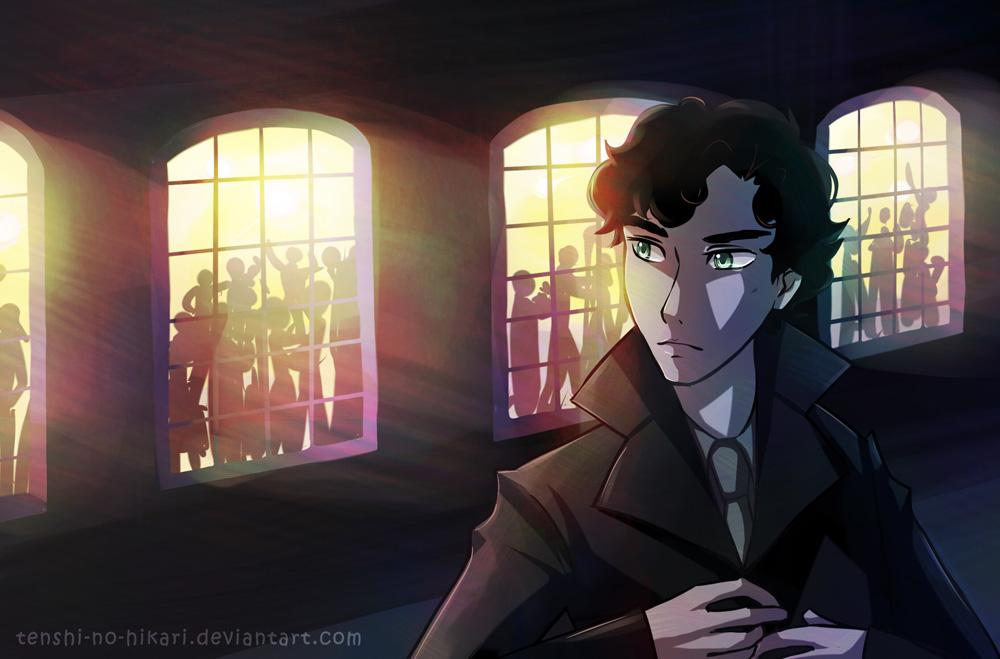 Sherlock - Alone by Tenshi-no-Hikari