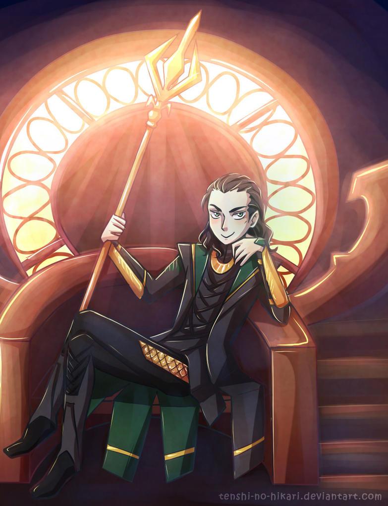 Loki'd by Tenshi-no-Hikari