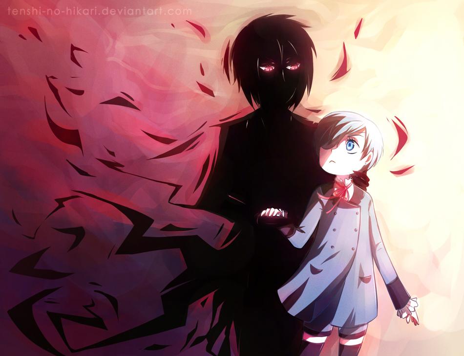 Young Master and his demon by Tenshi-no-Hikari