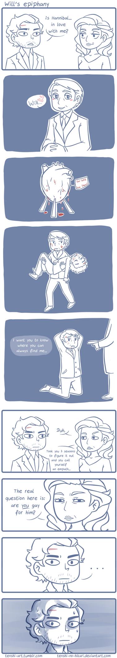 Will's epiphany by Tenshi-no-Hikari