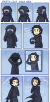 Party like Kylo Ren