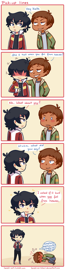 Voltron - Pick up lines