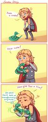 Snake Story by Tenshi-no-Hikari