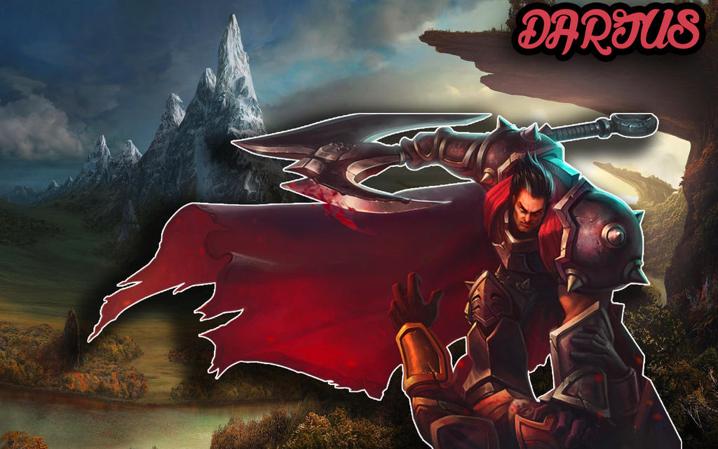 Darius League Of Legends Wallpaper By ParadoxEdits