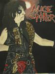 Alice Cooper Painting