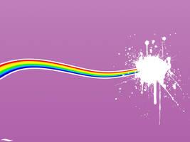 rainbow splash by themj2