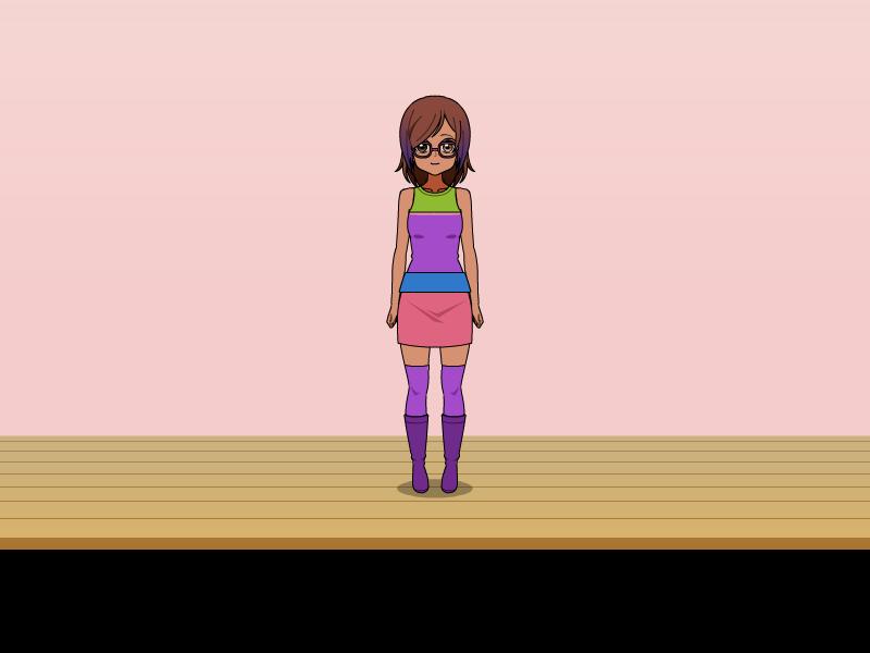 Chatsters Abby in Kisekae Form by JustinSiglerBratzFan