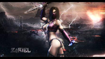 Mileena from Mortal Kombat by Z4RIEL